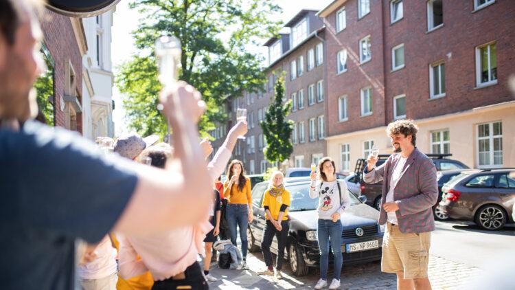 Eröffnung der Hansa-Bude am 21. September 2019 auf dem B-Side Festival