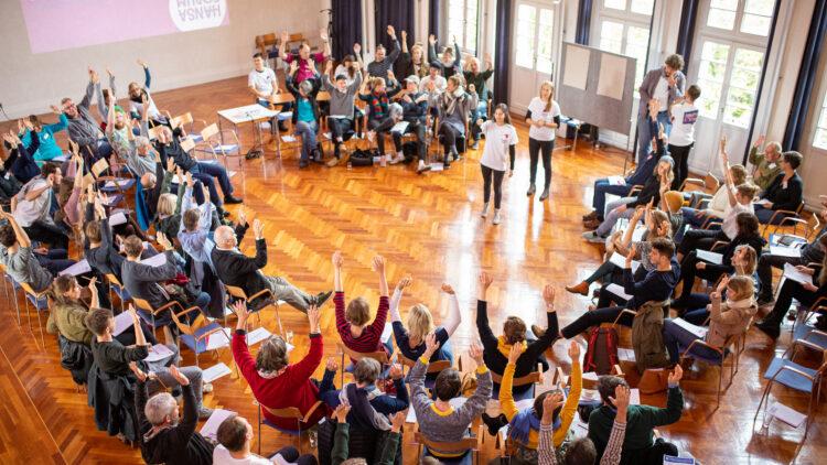 2. Hansa-Konvent: Abstimmung unter den Teilnehmern